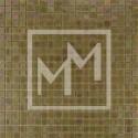 Mosaique jaune irisé 15*15 mm