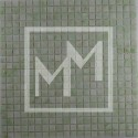 Mosaique vert clair 15*15 mm