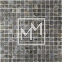 Mosaique gris marron doré haut de gamme 20*20 mm