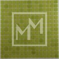 Mosaique vert pomme lisse 20*20 mm