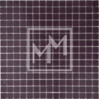 Mosaique violet foncé lisse 20*20 mm