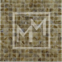 Mosaique marron jaune 20*20 mm