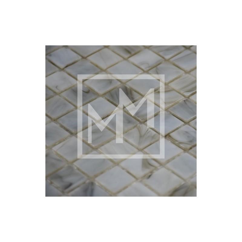 Mosaïque, carrelage haut de gamme gris pour salle d\'eau élégante